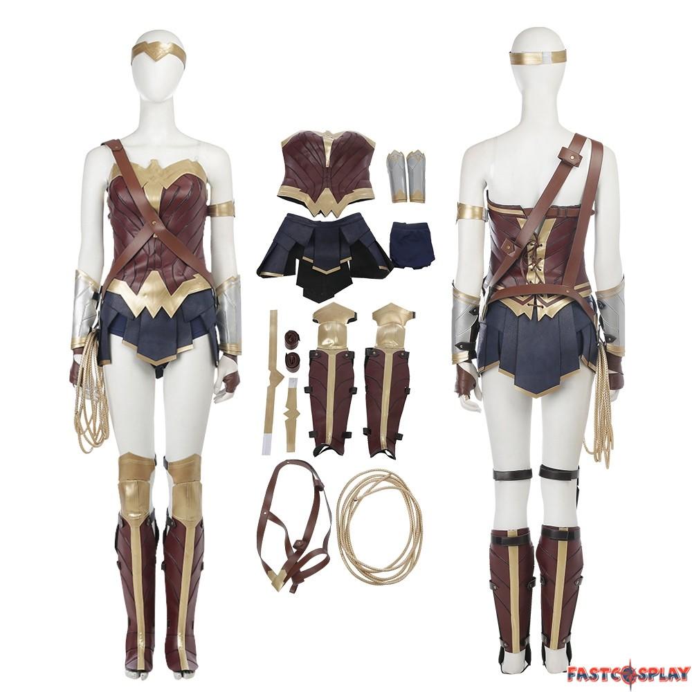 2017 Wonder Woman Cosplay Costumes Full Set
