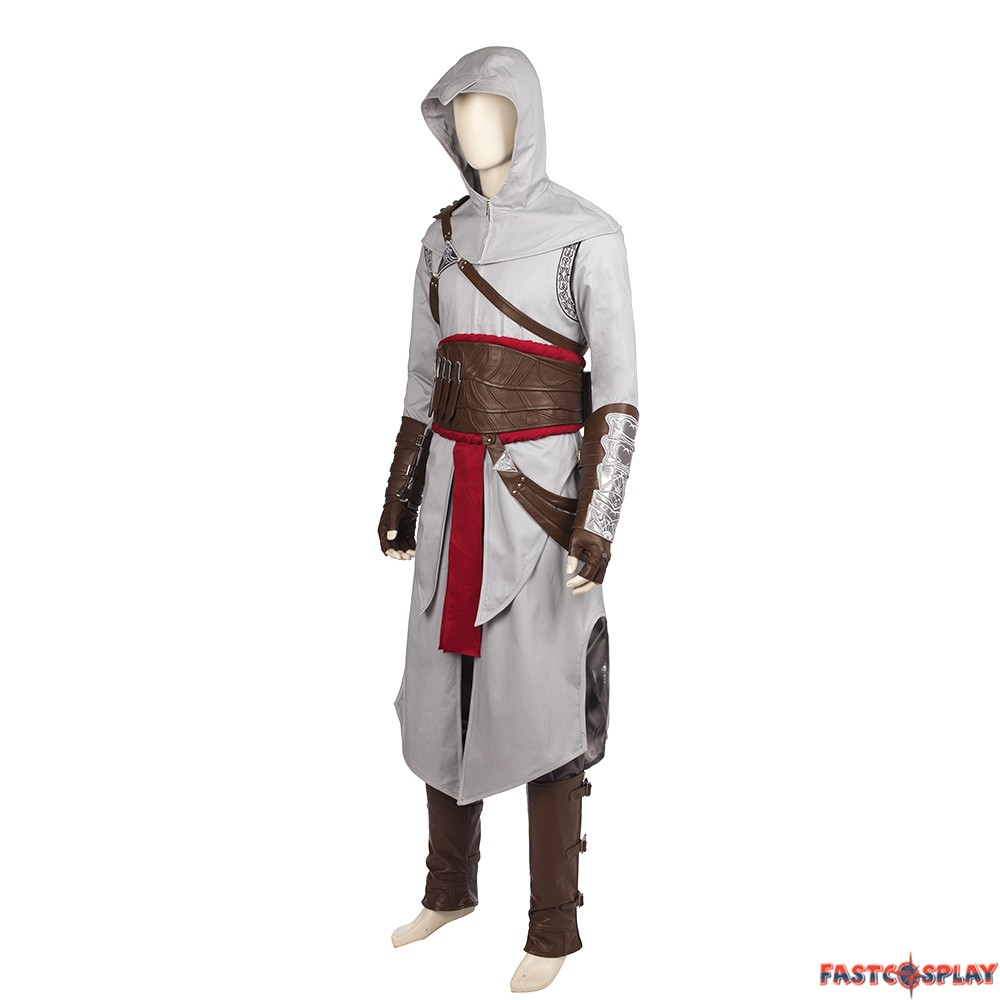 Assassin's Creed Revelations Altair Cosplay Costume Deluxe Assassins Creed Revelations Costume