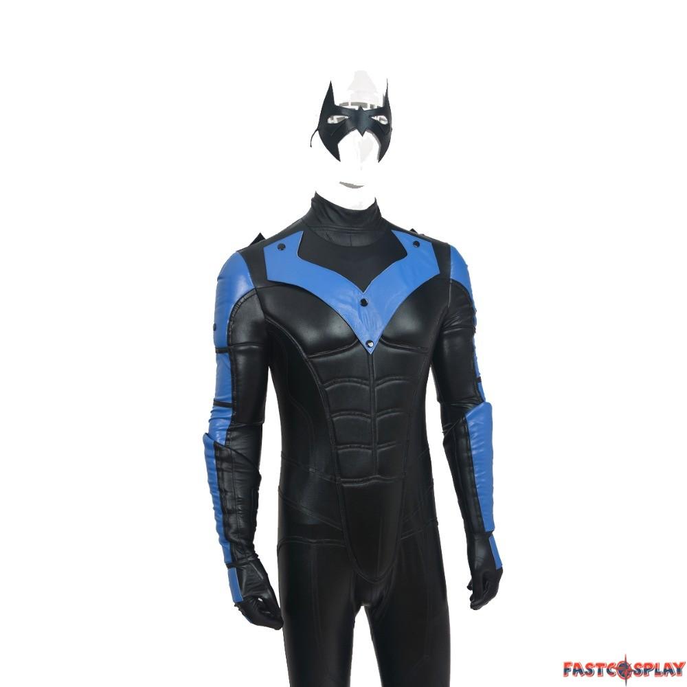 Batman Arkham City Red Nightwing Richard John Dick Grayson ...