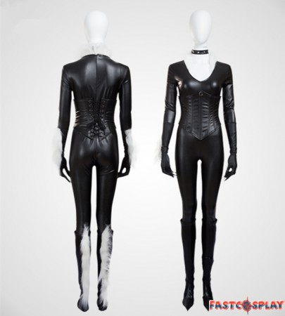Catwoman Sexy Jumpsuit Cosplay Costume - Deluxe Verison