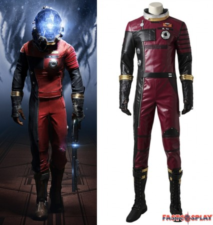 Game Prey Morgan Yu Cosplay Costume Deluxe