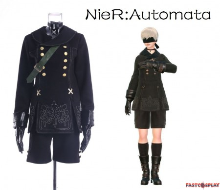 NieR: Automata 9S Costume YoRHa No.9 Type S Cosplay Costume