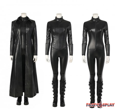 Underworld: Blood Wars The Vampire Female Warrior Selene Cosplay Costume Deluxe