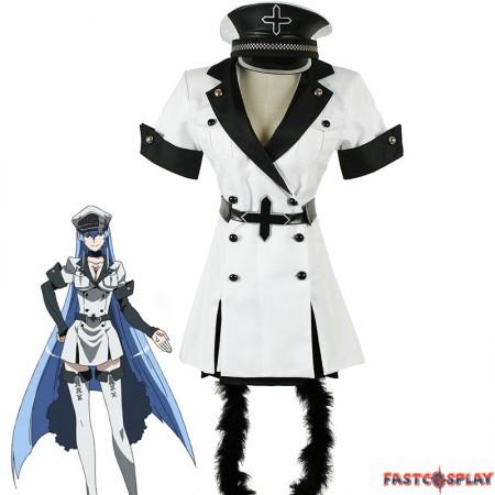 Akame ga Kill! Esdese Esdeath Cosplay Costume