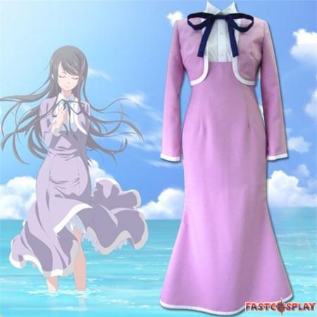 Amanchu! Futaba Ooki Hikari Kohinata Ai Ninomiya Uniform Cosplay Costume