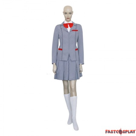 Anime Bleach Kuchiki Rukia School Uniform Cosplay Costume