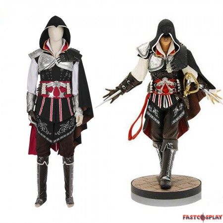 Assassins Creed Ezio Auditore Cosplay Costume - Deluxe Version