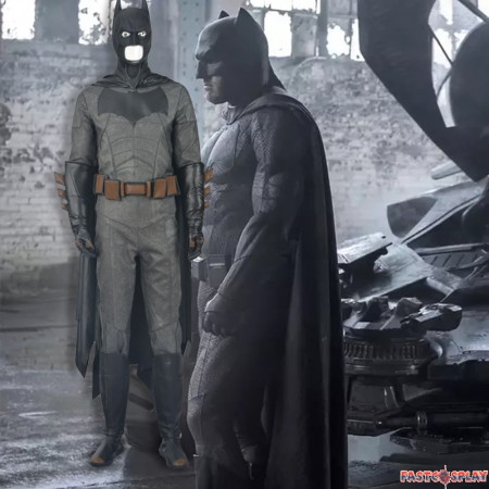 Batman Cosplay Costume Outfit Full Set - Deluxe Version