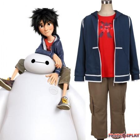 Big Hero 6 Hiro Hamada Cosplay Costume Full Set