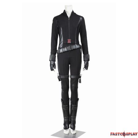 Captain America 2 Black Widow Natasha Romanoff Cosplay Costume