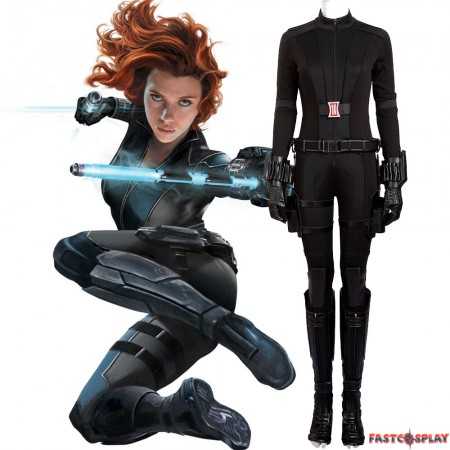 Captain America 3 Black Widow Natasha Romanoff Cosplay Costume