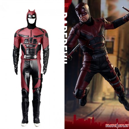 Daredevil Cosplay Costume Full Suit Deluxe Version