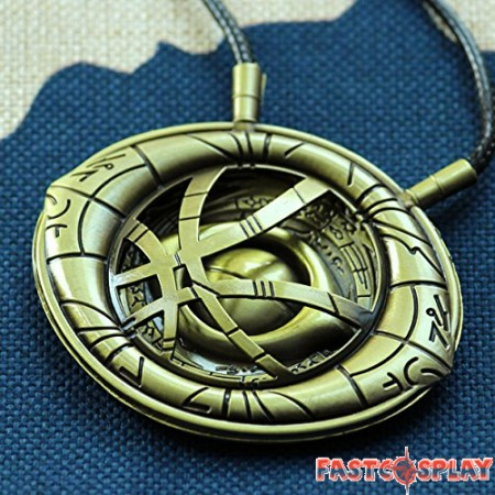 Doctor Strange Eye of Agamotto Cosplay Necklace Props