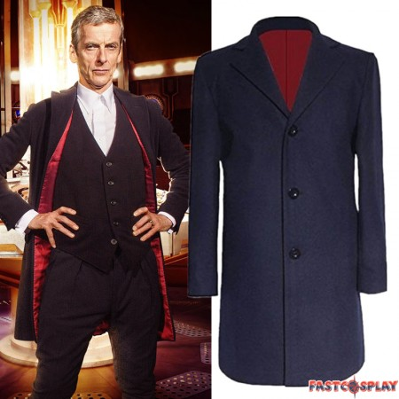 Doctor Who 12th Peter Capaldi Coat Jacket Cosplay Costume