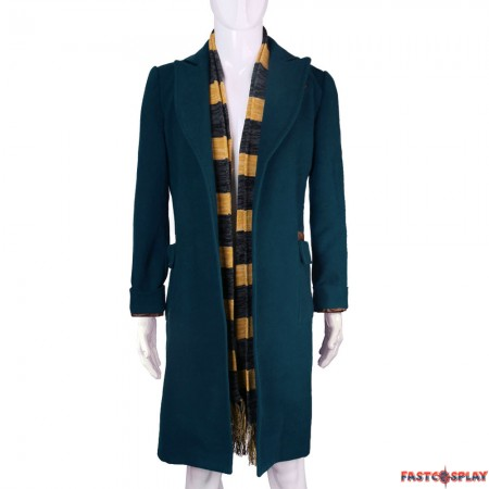 Fantastic Beasts and Where to Find Them Newt Scamander Coat Cosplay Costume