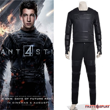 Fantastic Four Human Mister Fantastic Reed Richards Cosplay Costume