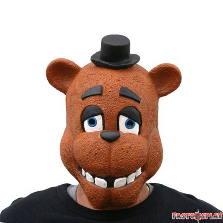 Five Nights at Freddy's Freddy Fazbear Foxy Latex Mask