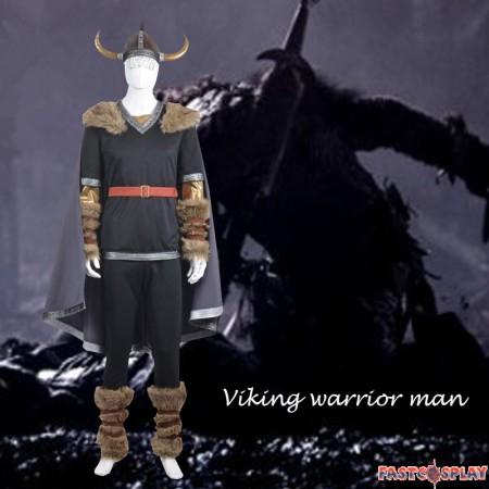 Game Viking Warrior Cosplay Costume