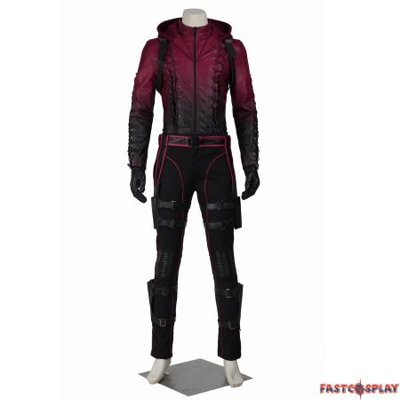 Green Arrow Season 3 Red Arrow Roy Harper Cosplay Costume