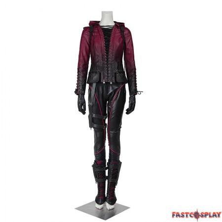 Green Arrow Season 4 Speedy Thea Queen Cosplay Costume