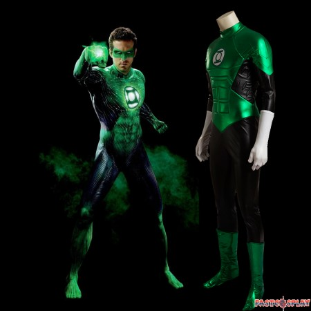 Green Lantern Cosplay Costume Deluxe Outfit