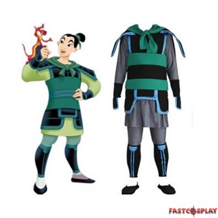 Kingdom Hearts 2 Hua Mulan Cosplay Costume