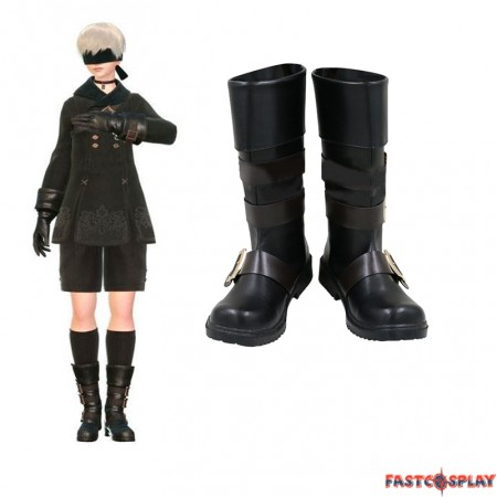 NieR: Automata 9S Cosplay Boots YoRHa No.9 Type S Black Shoes