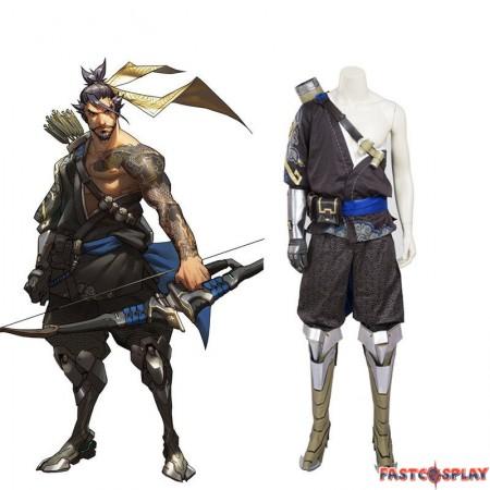 Overwatch Hanzo Shimada Cosplay Costumes