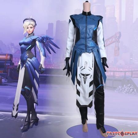 Overwatch Mercy Cosplay Halloween Costumes
