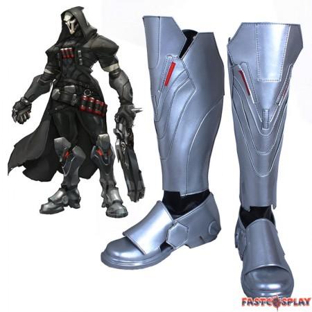 Overwatch Reaper Cosplay Boots