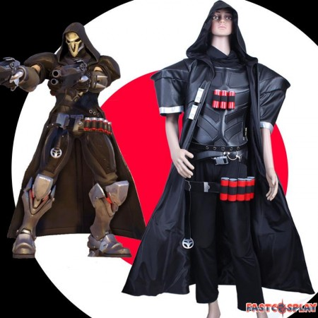 Overwatch Reaper Cosplay Costumes
