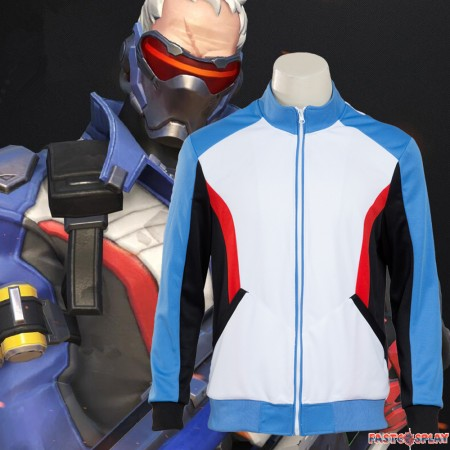 Overwatch Soldier 76 Jacket Costume