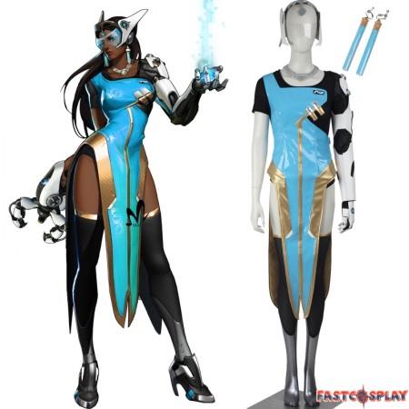 Overwatch Symmetra Satya Vaswani Cosplay Costume