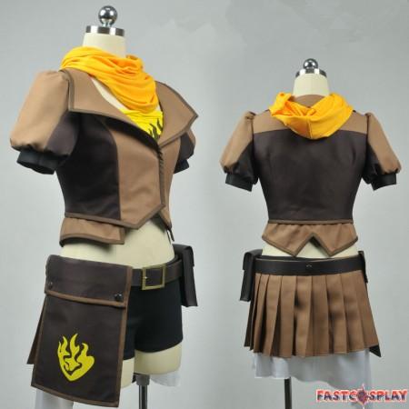 RWBY Yellow Trailer Yang Xiao Long Cosplay Costumes