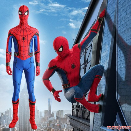 Spider Man Homecoming Spiderman Cosplay Costume Deluxe