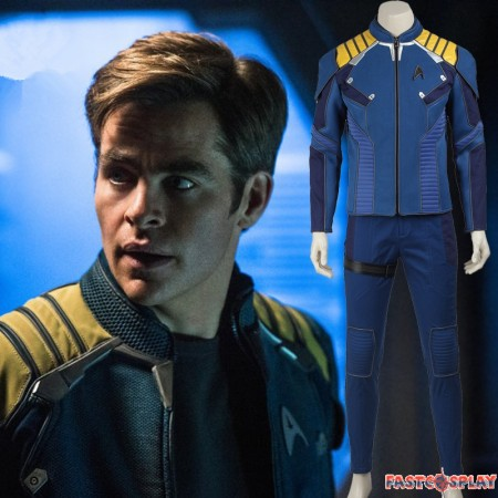 Star Trek Beyond Captain Kirk Cosplay Costume Chekov Kirk Costume