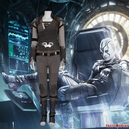 Star Trek Beyond Jaylah Cosplay Costume Deluxe Outfit