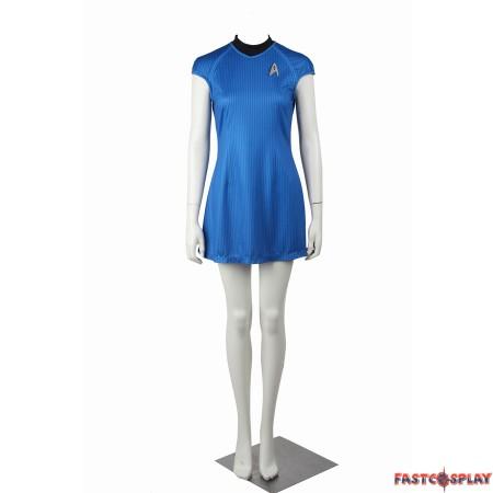 Star Trek Into Darkness Carol Marcus Blue Dress Uniform Costume