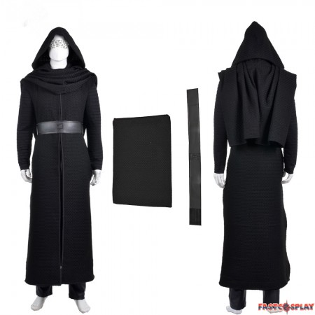 Star Wars The Force Awakens Kylo Ren Cosplay Costumes - Deluxe Version