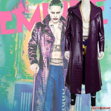 Suicide Squad Joker Cosplay Costume - Deluxe Version