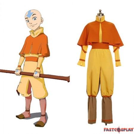 The Last Airbender Aang Cosplay Costume