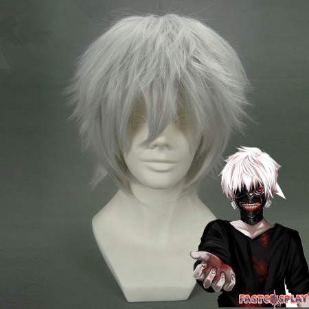 Tokyo Ghoul Ken Kaneki Cosplay Hair Wigs
