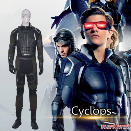X-Men Apocalypse Cyclops Cosplay Costume Scott Summers Cosplay Outfit