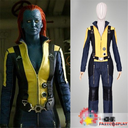 X-Men: First Class Mystique Uniform Cosplay Costume
