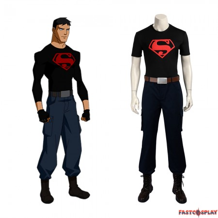 Young Justice Superboy Cosplay Costumes
