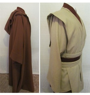 Star Wars Obi-Wan Jedi Master Deluxe Cosplay Costumes