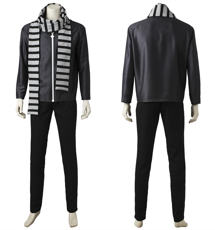 2017 Despicable Me 3 Gru Cosplay Costume