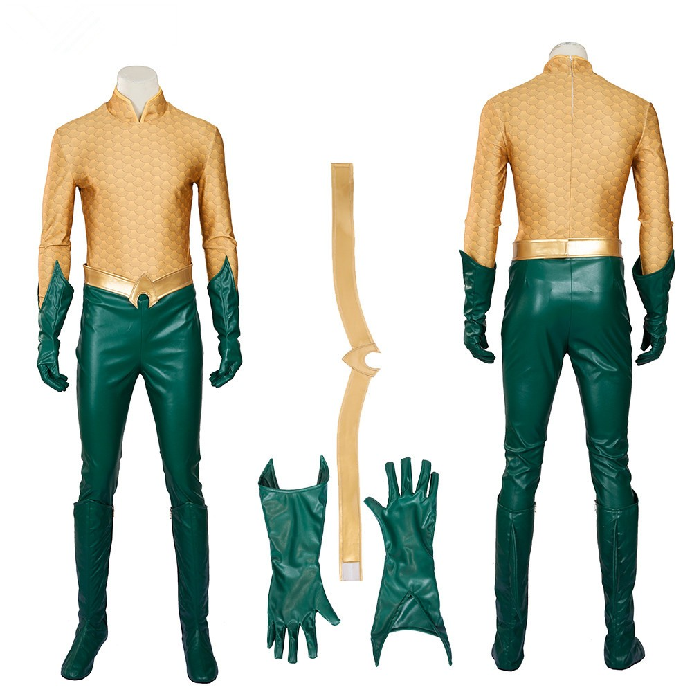 Arthur Curry Orin Costume Aquaman Cosplay Costumes