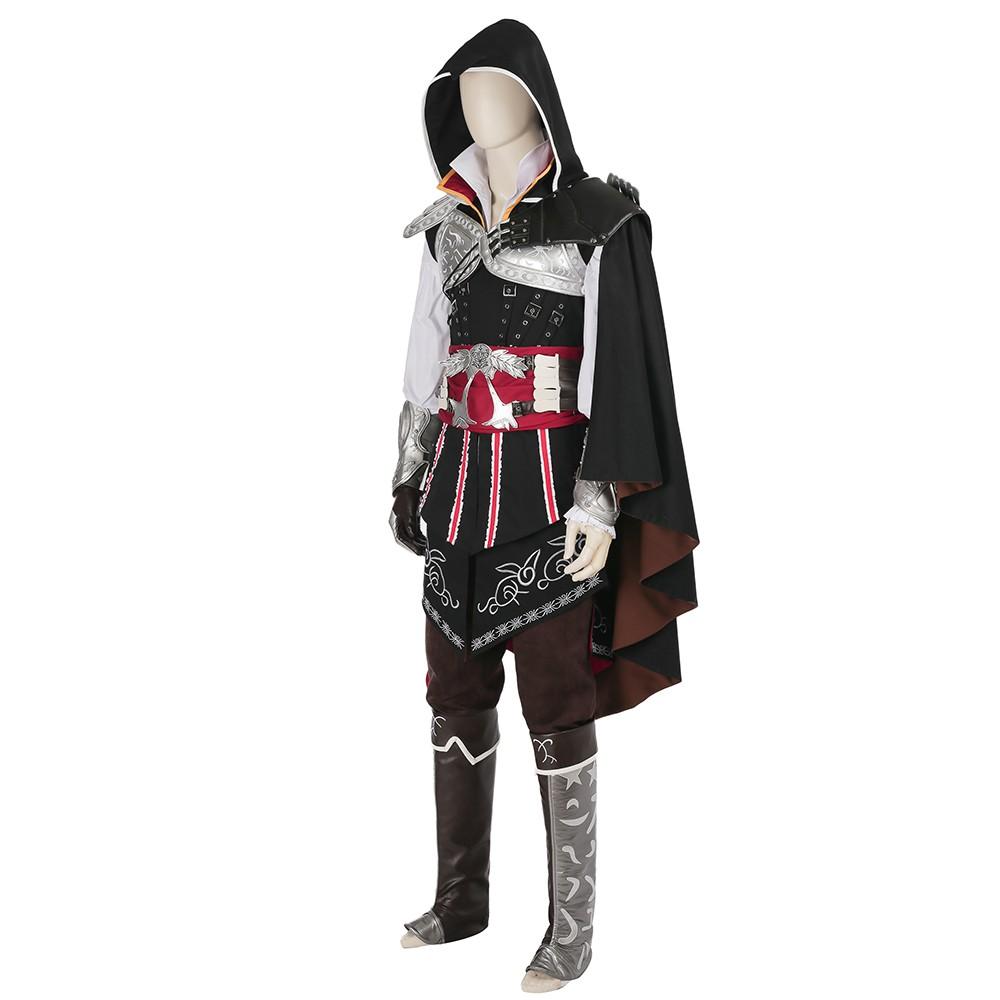 Assassins Creed Ezio Auditore Cosplay Costume - Deluxe Version