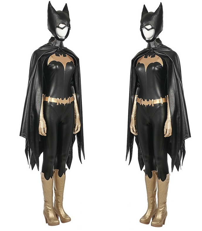 Batman: Arkham Knight Batgirl Jumpsuit Full Set Cosplay Costume